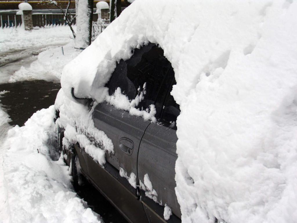 In de winter heeft je auto het wat zwaarder